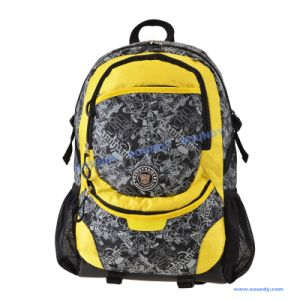 with Reflective Straps Transformer Leisure Backpack, School Bag