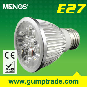 Mengs® E27 5W LED Spotlight with CE RoHS SMD, 2 Years′ Warranty (110120023)