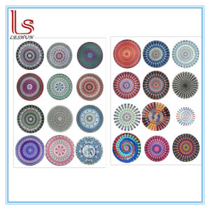 Hot Sale Summer Chiffon Round Beach Towels pictures & photos