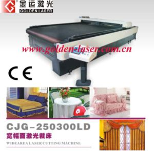 Auto Feeding Textile Laser Cutter Bed for Home Textile and Sofa Fabric