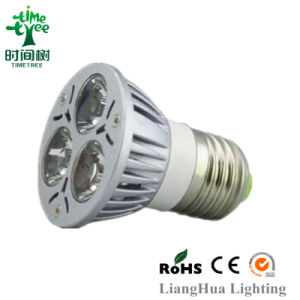 GU10 LED E27 Cap High Brightnesss LED High Dfficiency Approved LED Bulb (LED-G-4W) pictures & photos