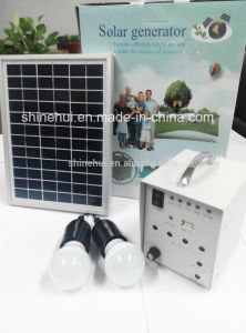 2015 Portable Home Solar Systems for Indoor Lighting pictures & photos