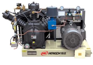 Three Stage 40bars High Pressure Air Compressor (WH-1.0/40) pictures & photos