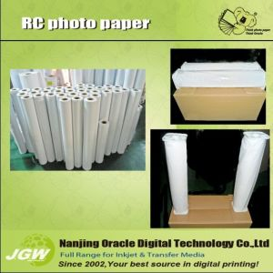 260GSM Photo Paper RC Lustre Rolls (KAL)