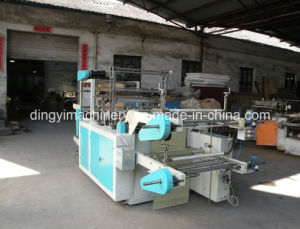 Computer Control High-Speed Vest and Flat Rolling Bag Making Machine pictures & photos