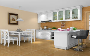 Modern Style PVC Finish Door Home Furniture Kitchen Design (zc-014) pictures & photos