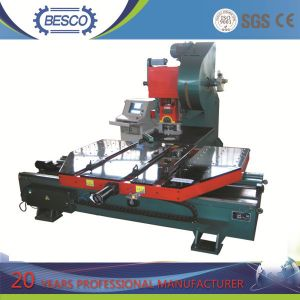 Steel Screen Mesh Hole CNC Punching Machine with Feeding Platform pictures & photos