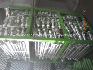 Scaffolding Cup Lock System Cuplock Vertical Leg Post pictures & photos