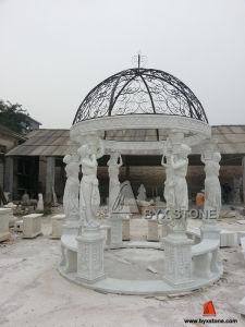 Marble Stone Carving Sculpture Garden Gazebo for Outdoor pictures & photos