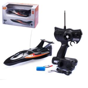 MID Size High Speed 4CH RC Boat Model for Kids Racing (Li-Poly Battery New Verison)
