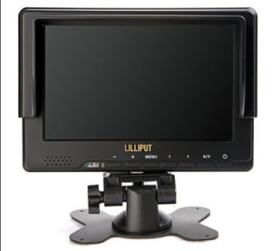 Lilliput 7′′ LCD DSLR Rig Monitor with HDMI & YPbPr Input (667GL-70)