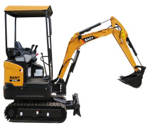 Sy20c Environment Friendly Hydraulic Crawler Excavator