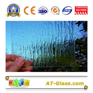3-8mm Clear Rain Patterned Glass Pattern Glass for Window pictures & photos