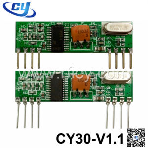 434MHz Ask RF Superheterodyne Wireless Receiver Module (CY30-V1.1)