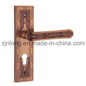 Flat Face Bronze safety Door Handle pictures & photos