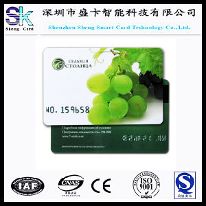 2015 New Style Fruit Shop Credit Card Size PVC ID Membership Card