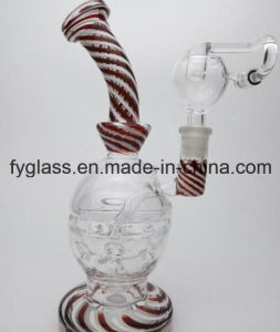 Multi Wiwag Glass Smoking Water Pipe with Skull Egg Perc pictures & photos