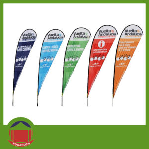 Custom Logo High Quality Polyester Advertising Flag pictures & photos