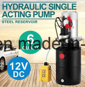 12V/ 24V DC Hydraulic Power Pack for Trailer Tipping System pictures & photos