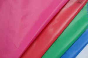 Garment Fabric 100%Polyester 290t Poly Taffeta