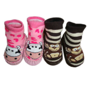Full Terry Slipper Baby Home Socks (BS-19)