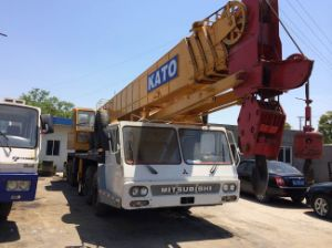 Used Kato Truck Crane Nk500e-V (KATO 50T Mobile Crane) pictures & photos
