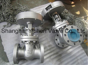 API 6D Carbon Steel Chain Wheel Gate Valve pictures & photos