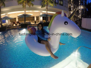 Cheapest Giant Inflatable Swan/Horse Pool Float pictures & photos