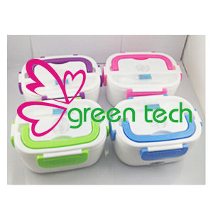 Thermostatic Heated Lunch Box Plug Large Capacity 4 Colors
