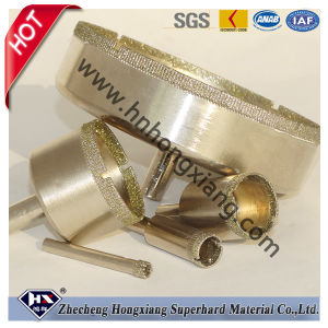 Electroplated Diamond Core Drill Bits for Granite Marble Glass pictures & photos