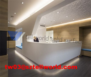 Tw Best Price Acrylic Information Counter/Reception Desk pictures & photos