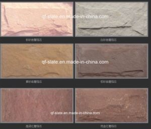 White/Pink/Yellow/Brown/Red Sandstone Tiles, Sandstone Mushroom Stone (G-SYM)