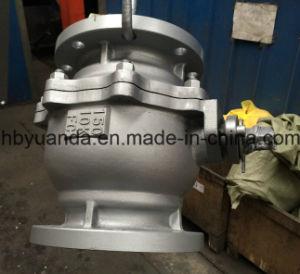 JIS 10K Cast iron 2 PC full bore ball Valve Q41F-10K pictures & photos