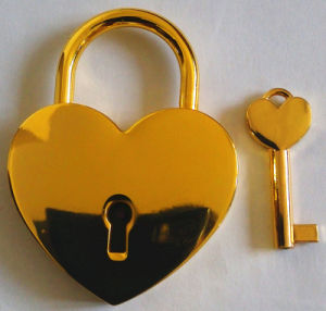 Christmas Padlock, Gifts Lock, Padlock. Golden Padlock, Al-G030 pictures & photos