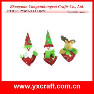Christmas Decoration (ZY14Y349-1-2-3) Christmas Love Heart Shape Cheap Souvenir pictures & photos