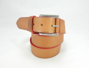 Newly-Designed Fashion Men′s Leather Belt (EU6012-40) pictures & photos