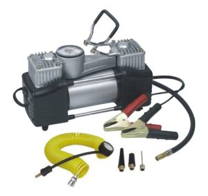 DC12V Double Cylinders Car Air Compressor pictures & photos