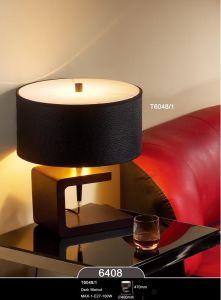 Home Goods Drak Walnut Table Lamp Light pictures & photos