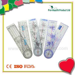 Plastic Medical Goniometer Ruler pictures & photos