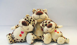 Custom Baby Toy Soft Jungle Animal Stuffed Leopard Plush Toy pictures & photos