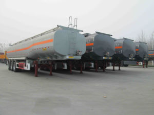3 Axle Chemical Liquid Transport Tank Semi Trailer pictures & photos