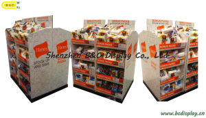 Counter Cardboard Stand, Clothing Paper Pile Head, Counter Display, Pop up Display Stand, Pop Shelves, Paper Stand Shelves, Gift Box, Paper Box (B&C-C030) pictures & photos