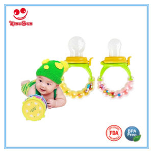 Rattle Toy Silicone Fresh Fruit Feeder for Baby pictures & photos