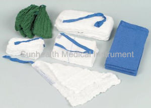 Medical Supply Cotton Gauze Abdominal Pad pictures & photos