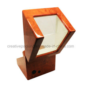 High Gloss Burl Wood Automatic Watch Winder Box pictures & photos