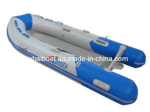 Inflatable Boat with CE PVC & Hypalon (AH-380)