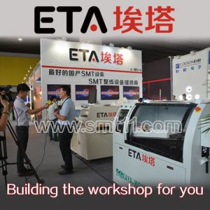 SMT Assembly Line(SMT Printer+SMT Pick and Place Machine+Reflow Oven pictures & photos