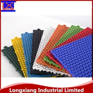 Interlocking Plastic Garage Flooring Tile Sport Mat Sport Flooring pictures & photos
