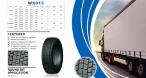China Factory Chinese Brand Tire Radial Truck Tyre 12r22.5 11r22.5 315/80r22.5/Wx813 / Truck Tire pictures & photos