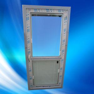 PVC/UPVC Casement Door with Shutter